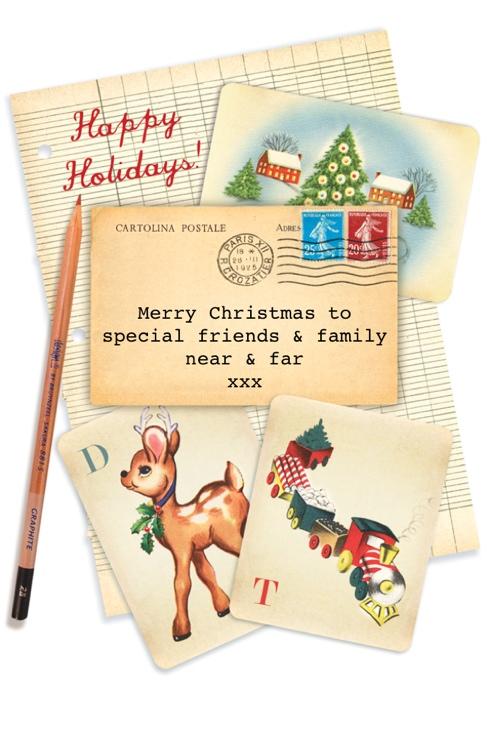 Cartolina Special Christmas Wishes
