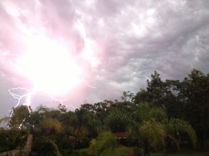 Amazing light show